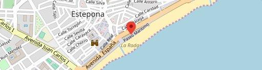 Cafeteria Oliveri en el mapa
