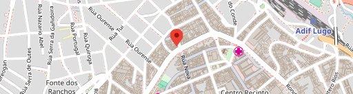 Cafetería Ousá en el mapa