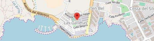 Cafetería Pastelería Azucar y Sal en el mapa