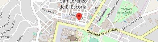 Cafetería Del Arte en el mapa