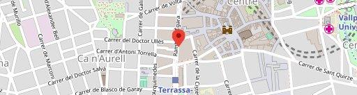 CAFETERIA TOMATE en el mapa