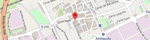 Braseria Cal Paco en el mapa