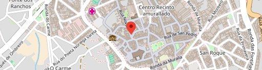 Restaurante Campos en el mapa