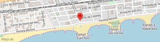 Restaurante Can Martí en el mapa