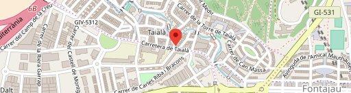 Restaurant Can Roca en el mapa