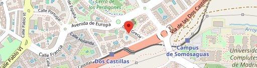 Restaurante Caná en el mapa