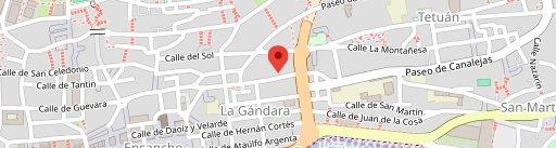 Cantina Plaza Garibaldi en el mapa