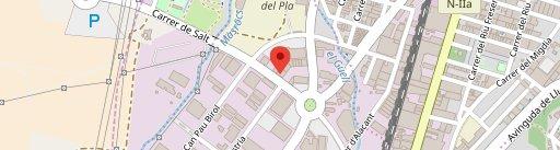 Caribbean Girona en el mapa