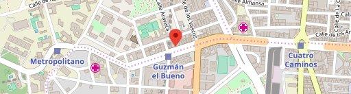 Sidrería Casa Lulo en Madrid en el mapa