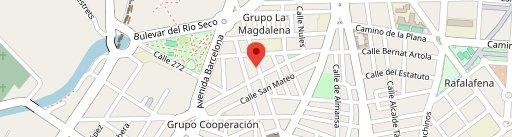 Restaurante Casa Mercedes en el mapa