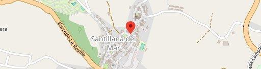 Terraza-Restaurante Casa Miguel en el mapa