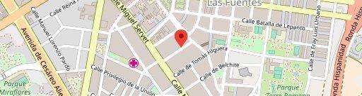 Castrobar Vermutería en el mapa