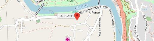 "Catering ""CHAO DA BREA"" en el mapa"