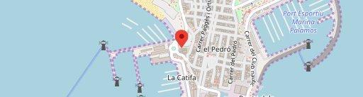Celler de La Planassa en el mapa