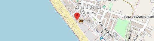 Restaurante Cerro Currita en el mapa