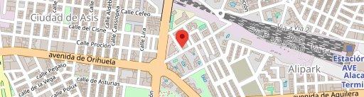 Cerveceria Cafetería Chacoli en el mapa