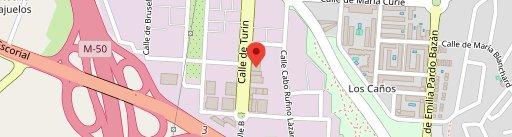 Cervezas La Virgen en el mapa