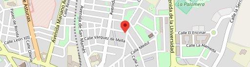 Cafetería Chamberí en el mapa