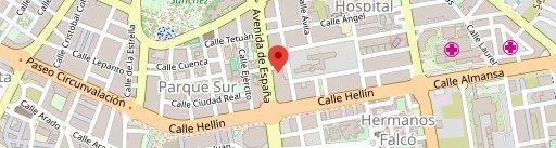 Cheers Albacete en el mapa