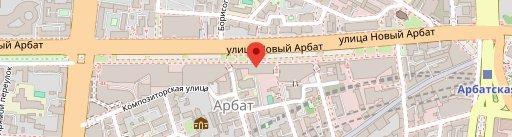 ШЕФ АРБАТ на карте