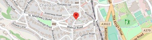 Chelston Manor en el mapa