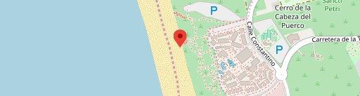 Chiringuito Albatros en el mapa