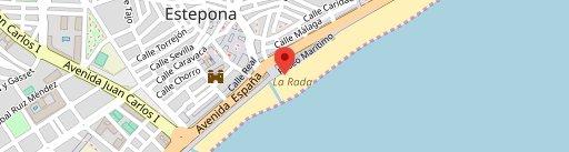 Bahía Beach en el mapa