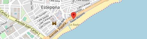 Restaurante Chiringuito Bahia en el mapa