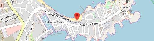 Chiringuito Cabo P en el mapa