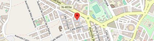 Chocolate Con Cecilia en el mapa