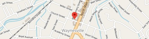 Church Street Depot on map