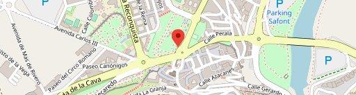 Kiosco Catalino en el mapa
