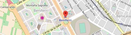 Cirsa Valencia en el mapa