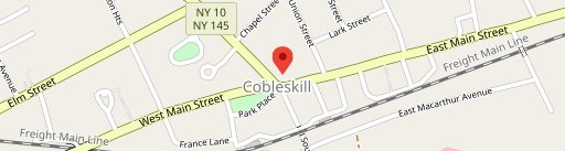 Coby's on map