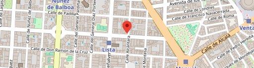 Restaurante Colósimo en el mapa