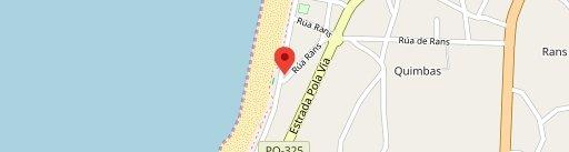 Corner Hut en el mapa