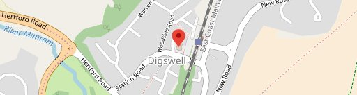 Cowper Arms on map