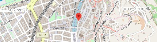 Crêperia Kr en el mapa