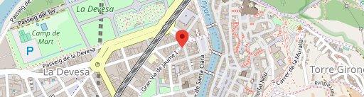 Croak's Girona на карте
