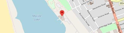 Crosby Lakeside en el mapa