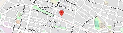 Crostó on map