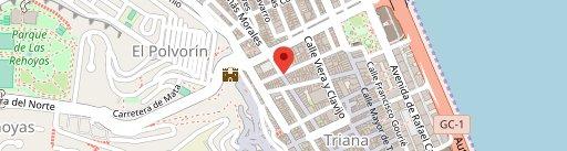 Bachaco poke bowl en el mapa