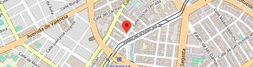 Crudo Taberna Gastronómica en el mapa