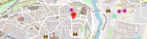 Cuchara de Palo en el mapa