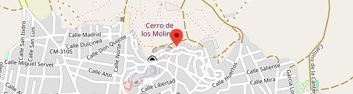 Restaurante Cueva La Martina on map