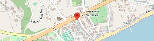 Restaurante Dani García ** en el mapa
