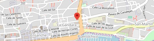 Daría on map