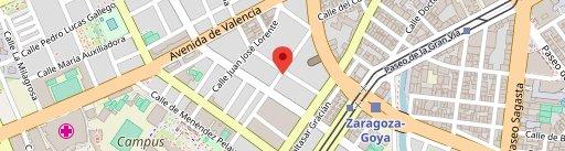 Dasbur en el mapa