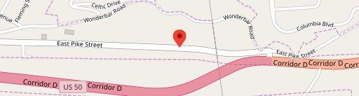 T&L Hotdogs on map