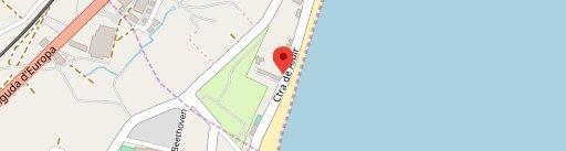 De LAB . Beach Lounge en el mapa